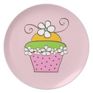 Cucake Illustration Plate