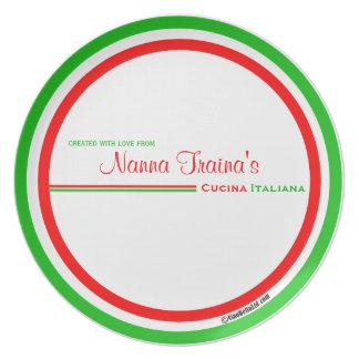 Cucina Italiana Dinner Plates