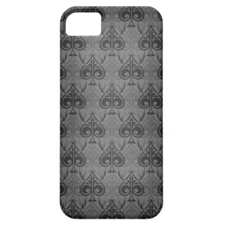 Cuckold-Cuckoldress-Hotwife damask pattern - Black Barely There iPhone 5 Case