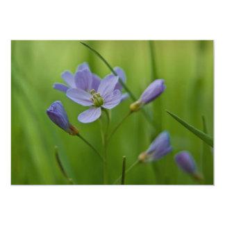 Cuckoo Flower 13 Cm X 18 Cm Invitation Card