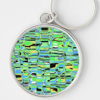 Cuckoo Marbled Abstract Keychain