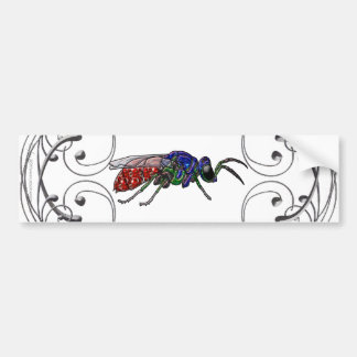 Cuckoo Wasp Bumper Sticker