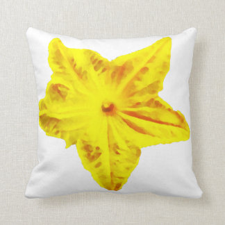 Cucumber flower pillow