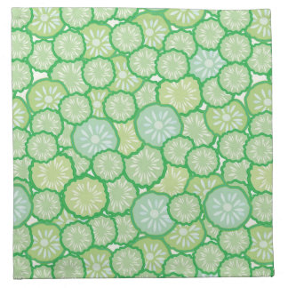 Cucumber funny pattern napkin
