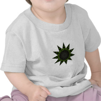 Cucumber Riverdance Kaleidoscope Abstract Art Tees