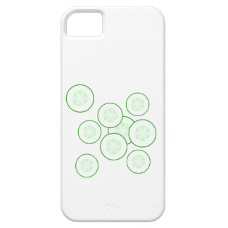 Cucumber slices. iPhone 5 covers