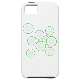 Cucumber slices. iPhone 5 cover