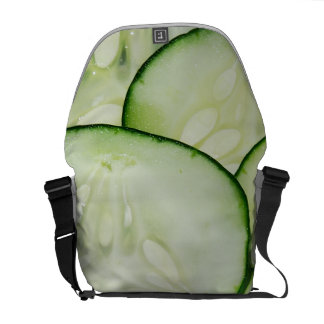 Cucumber Slices Courier Bags