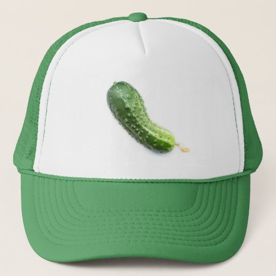 Cucumber Trucker Hat