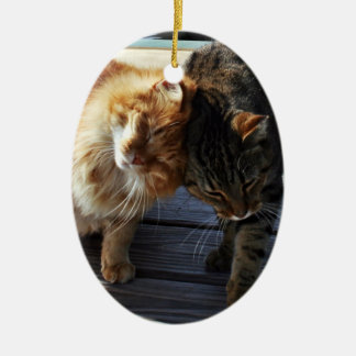 Cuddle Cats Christmas Ornaments