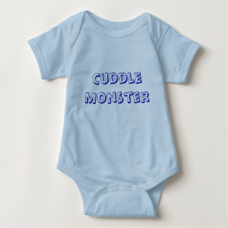 Cuddle Monster Baby Bodysuit