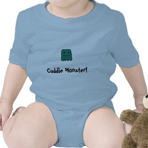 Cuddle Monster Romper
