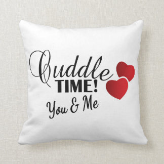 Cuddle Time for You & Me Cushion