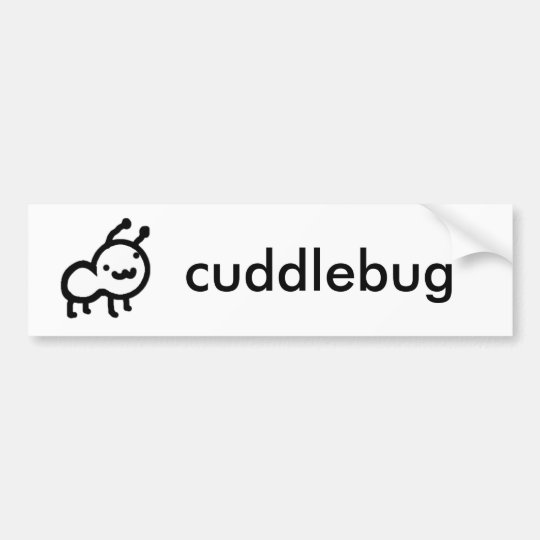 Cuddlebug bumper sticker