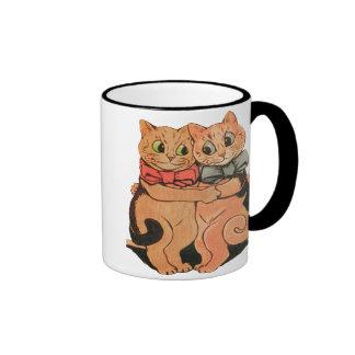 Cuddling Cats Coffee Mug