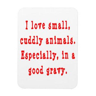 Cuddly Animals Good Gravy Flexible Magnet