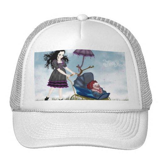 Cuddly Bacon White Bullcap Mesh Hat