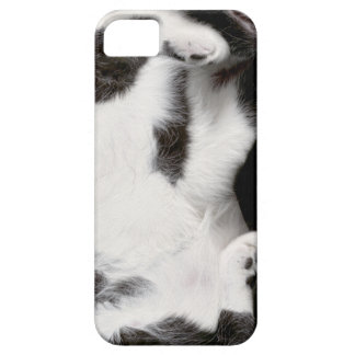 Cuddly Cat Wrapper for iPhone 5/5S Case (blk&wht)