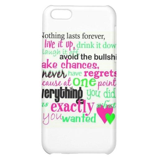 Cuddly citten iPhone 5C case