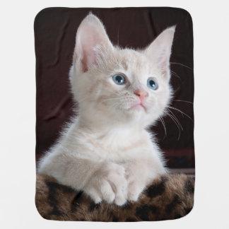 Cuddly Cute Kitten Baby Blanket