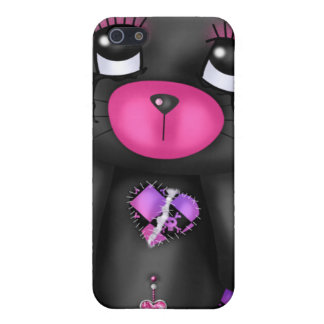 Cuddly emo bear I iPhone 5/5S Covers