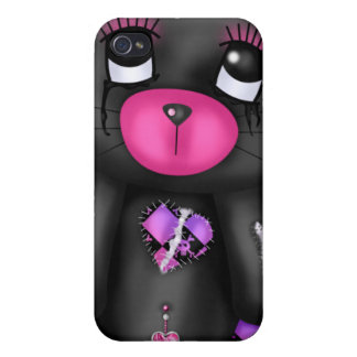 Cuddly emo bear I iPhone 4/4S Cover