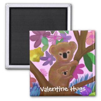 Cuddly Koalas Valentine Magnet