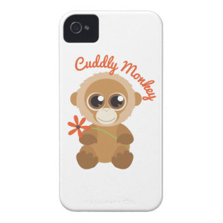 Cuddly Monkey iPhone 4 Cases