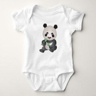Cuddly Panda Baby Bodysuit