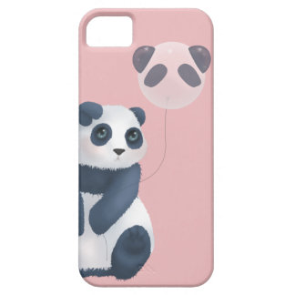 Cuddly Panda Balloon iPhone 5 Case
