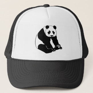 Cuddly Panda Bear Trucker Hat