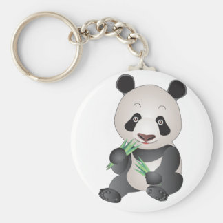 Cuddly Panda Keychains