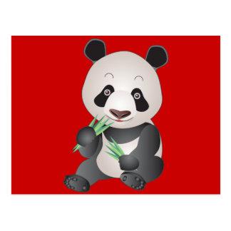 Cuddly Panda Postcard