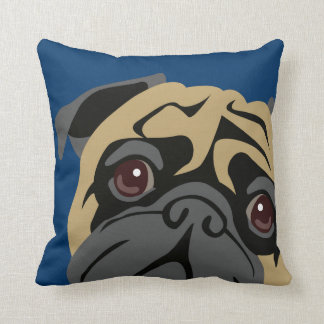 Cuddly Pug Cushion