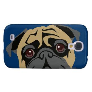 Cuddly Pug Galaxy S4 Case