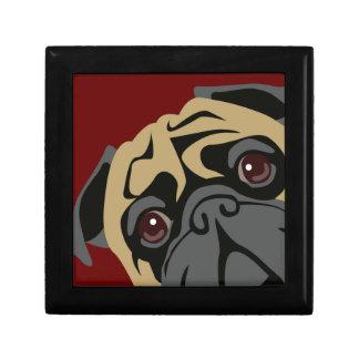 Cuddly Pug Gift Box