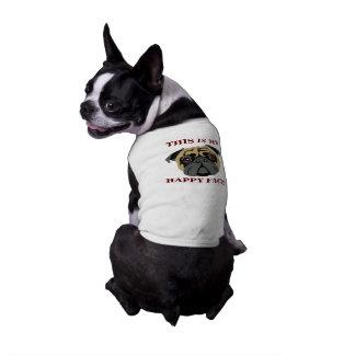 Cuddly Pug Sleeveless Dog Shirt