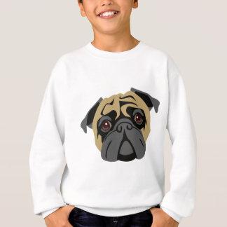 Cuddly Pug Sweatshirt