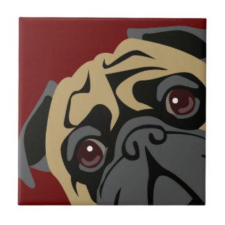 Cuddly Pug Tile