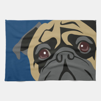 Cuddly Pug Towel