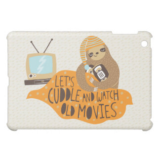 Cuddly Sloth iPad Mini Covers