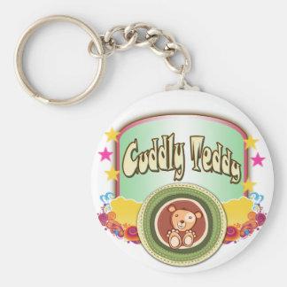Cuddly Teddy Keychains