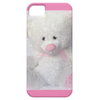 Cuddly White Teddy Bear iPhone 5 Case