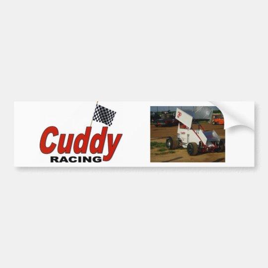 Cuddy Racing Bumper Sticker
