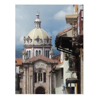 Cuenca Ecuador - Iglesia de San Blas Postcard