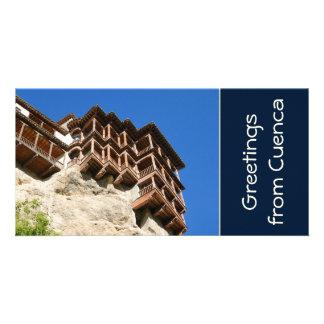 Cuenca Spain Custom Photo Card