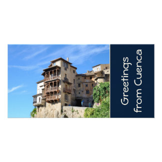 Cuenca Spain Personalized Photo Card