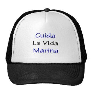 cuida la vida marina mesh hats