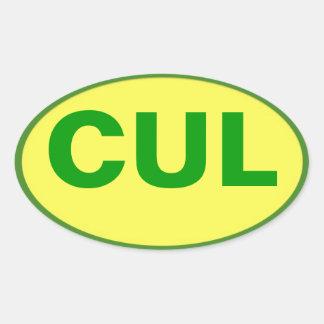 CUL sticker - Culebra Colours!