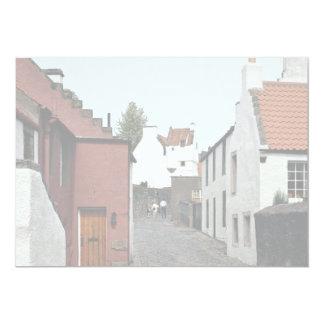 "Culcross, Fife, Scotland 5"" X 7"" Invitation Card"